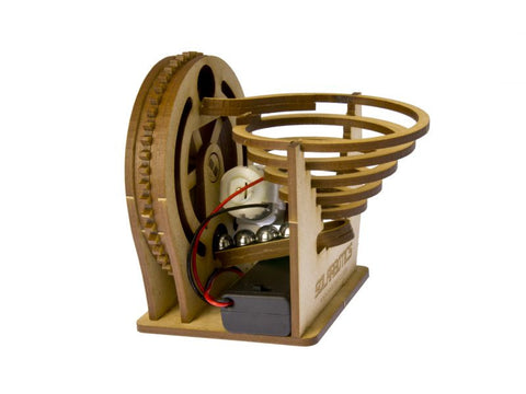 The Solarbotics Marble Machine Kit - Battery Edition