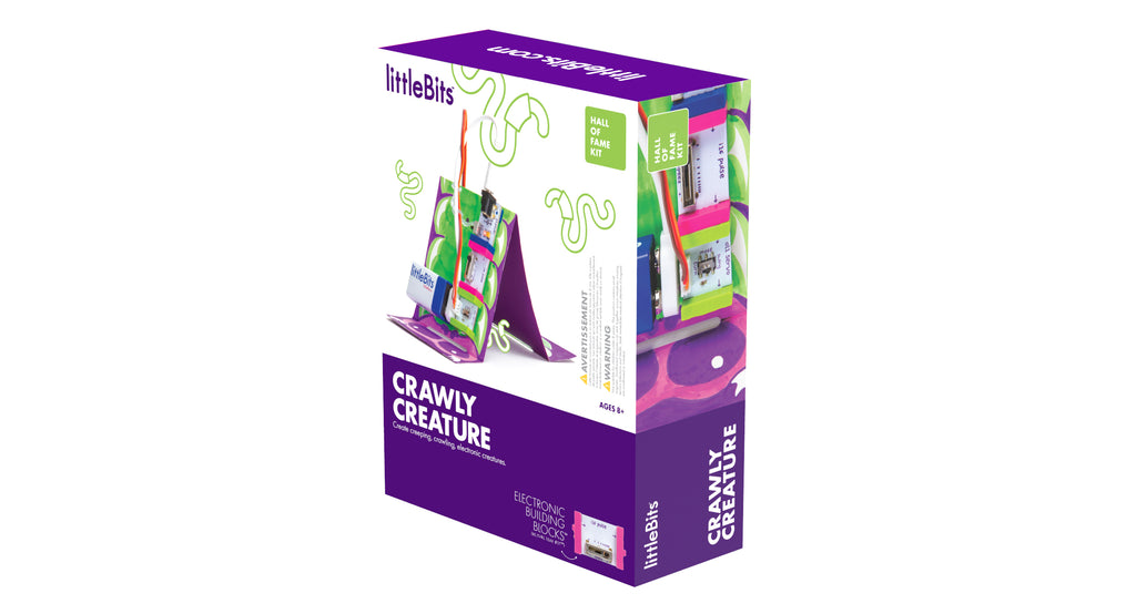 littleBits - Hall of Fame Crawly Creature Kit