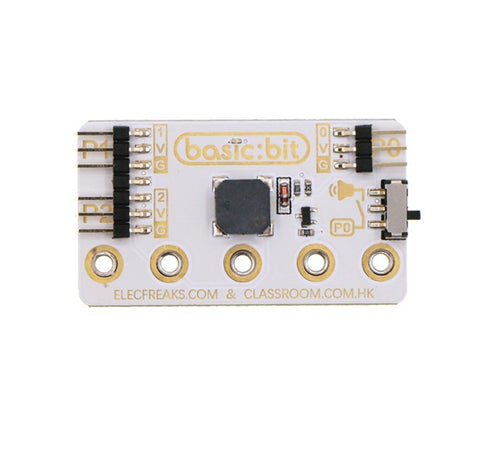 Basic:bit GVS Breakout Board for micro:bit