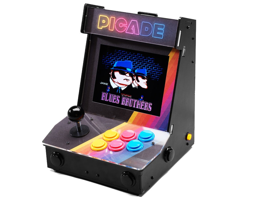 Pimoroni Picade - with 8 inch display