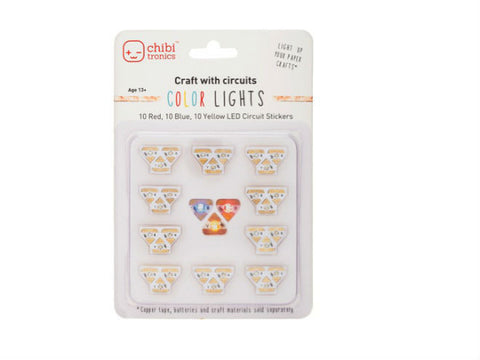 Chibitronics Circuit Stickers - Colour LED Pack