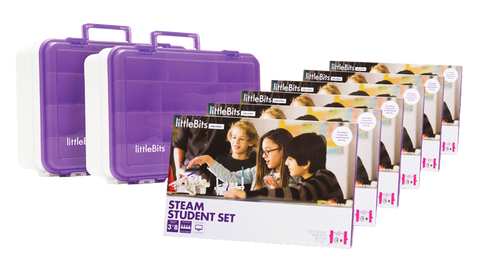littlebits STEAM Education Class Pack, EU/UK, 24 Students