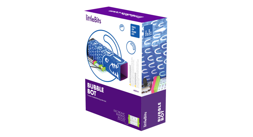 littleBits Hall of Fame Bubble Bot Kit