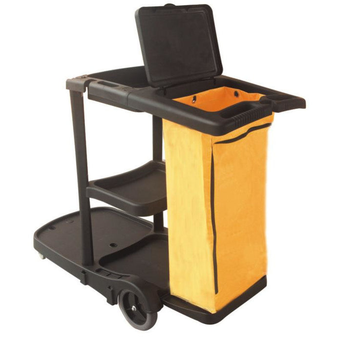 FILTA BLACK JANITOR CART - Sold by Single Unit in multiples of 1 Single Unit