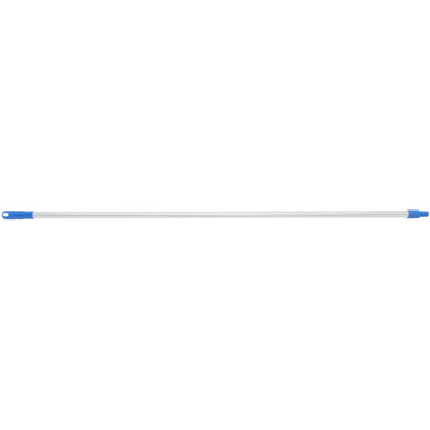 EDCO ALUMINIUM HANDLE Blue 1.5m X 25mm - Sold by Carton in multiples of 6 Carton