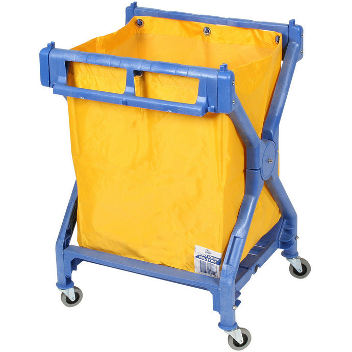 EDCO DELUXE PLASTIC SCISSOR TROLLEY COMPLETE WITH BAG - Sold by Single Unit in multiples of 1 Single Unit