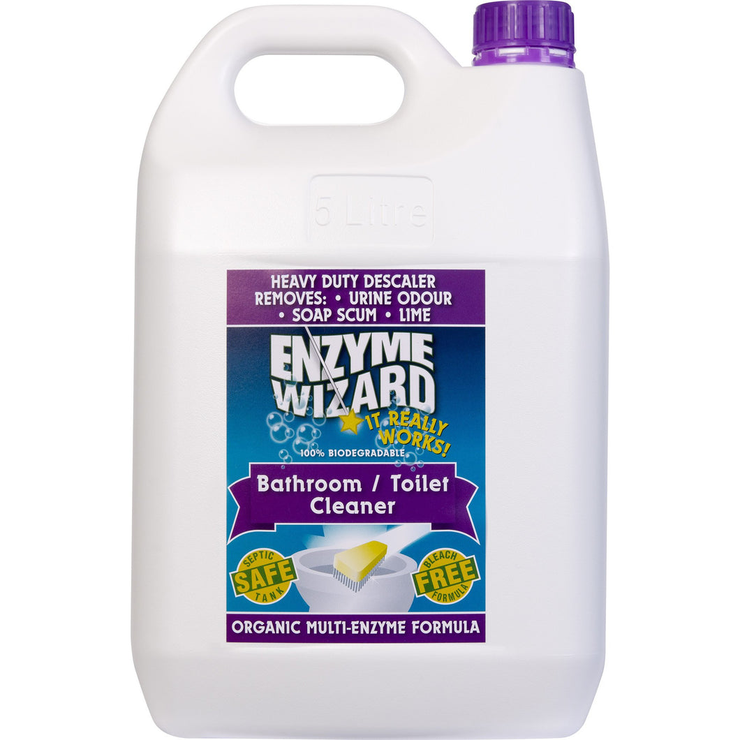 ENZYME WIZARD BATHROOM & TOILET CLEANER 5 LITRE