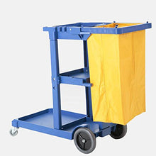 Load image into Gallery viewer, FILTA JANITOR CART BLUE