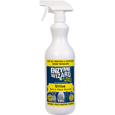 ENZYME WIZARD URINE STAIN & ODOUR REMOVER 1 LITRE