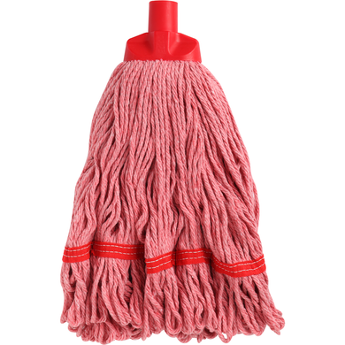 EDCO ENDURO ROUND MOP HEAD RED - 350G/27CM