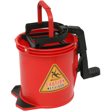 EDCO ENDURO NYLON WRINGER BUCKET Red - Sold by Single Unit in multiples of 2 Units