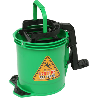EDCO ENDURO NYLON WRINGER BUCKET GREEN
