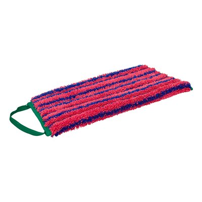 GREENSPEED SCRUB FLAT MOP FRINGE RED 30CM - WET USE ONLY