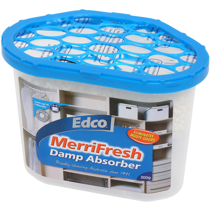EDCO MERRIFRESH DAMP ABSORBER 300g - Sold by Carton in multiples of 12 Carton