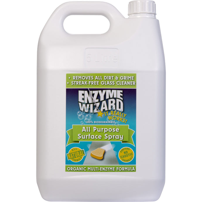 ENZYME WIZARD ALL PURPOSE SURFACE SPRAY 5 LITRE