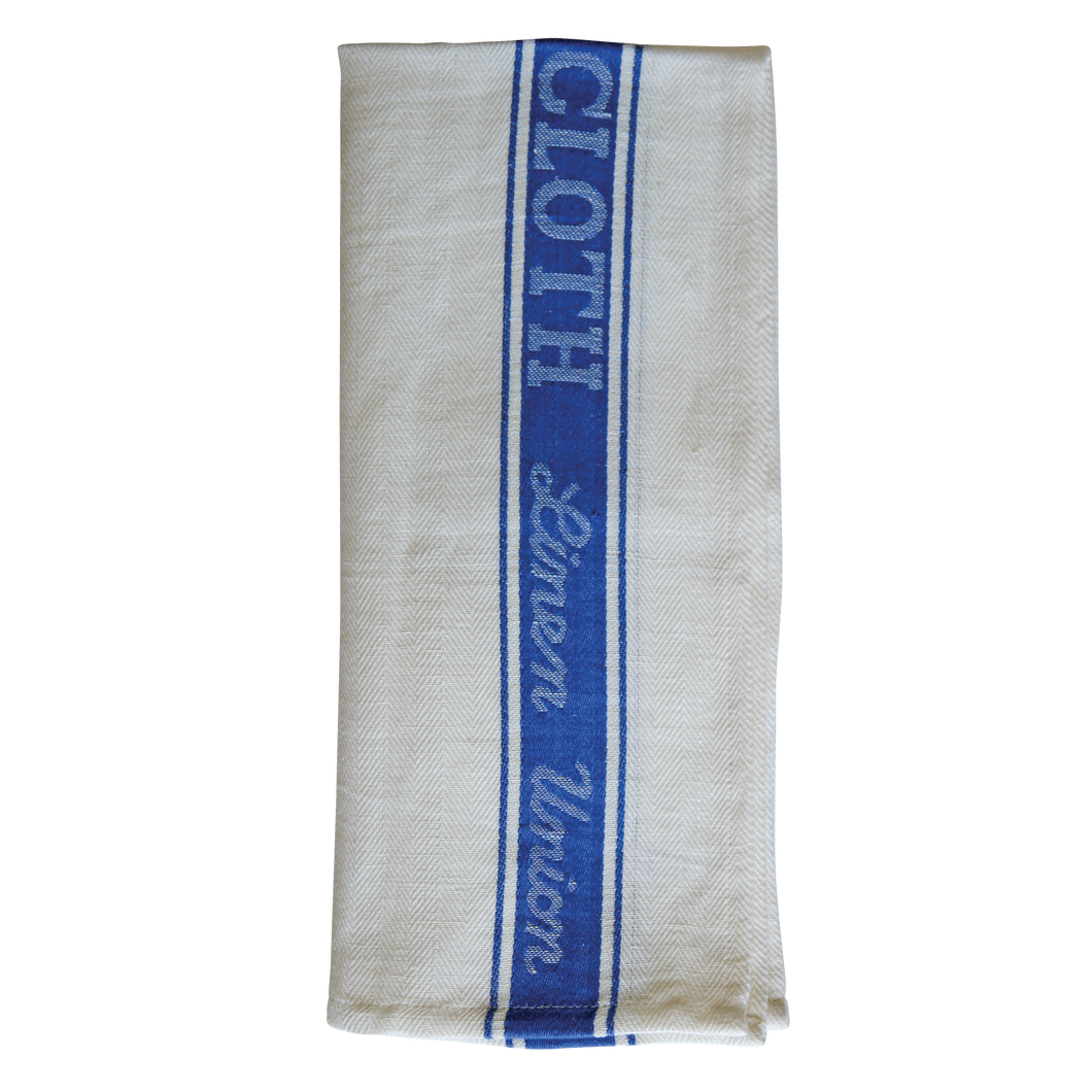 FILTA GLASS CLOTH TEA TOWEL 50% LINEN 50% COTTON Blue - Sold by Single Unit in multiples of 10 Units