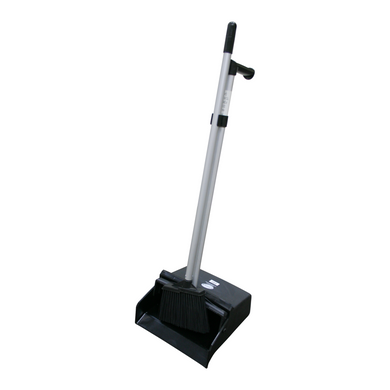 GALA LOBBY DUSTPAN & BRUSH SET BLACK