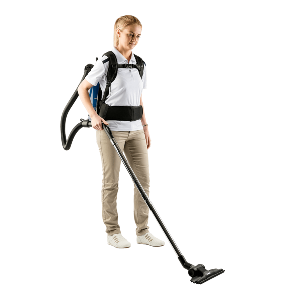 PACVAC SUPERPRO BACKPACK VACUUM CLEANER