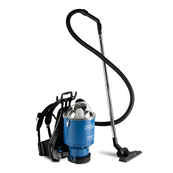 PACVAC SUPERPRO ADVANCE BATTERY VACUUM CLEANER - Sold by Single Unit in multiples of 1 Single Unit