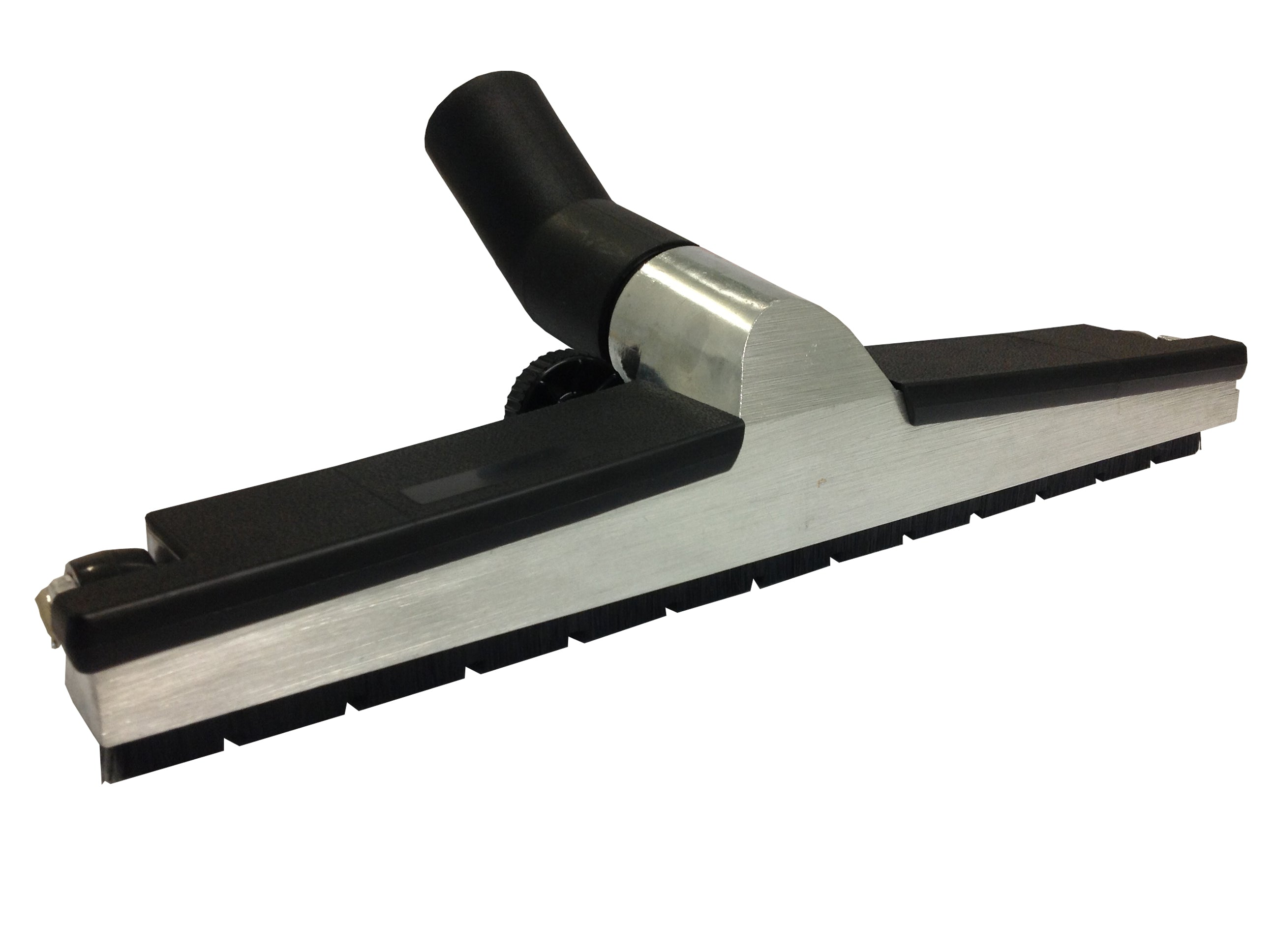 WESSEL WERK GRD450 BRUSH FLOOR TOOL 38MM X 450MM WIDE - ALUMINIUM/BLACK