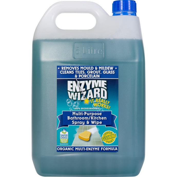 ENZYME WIZARD KITCHEN & BATHROOM 5 LITRE