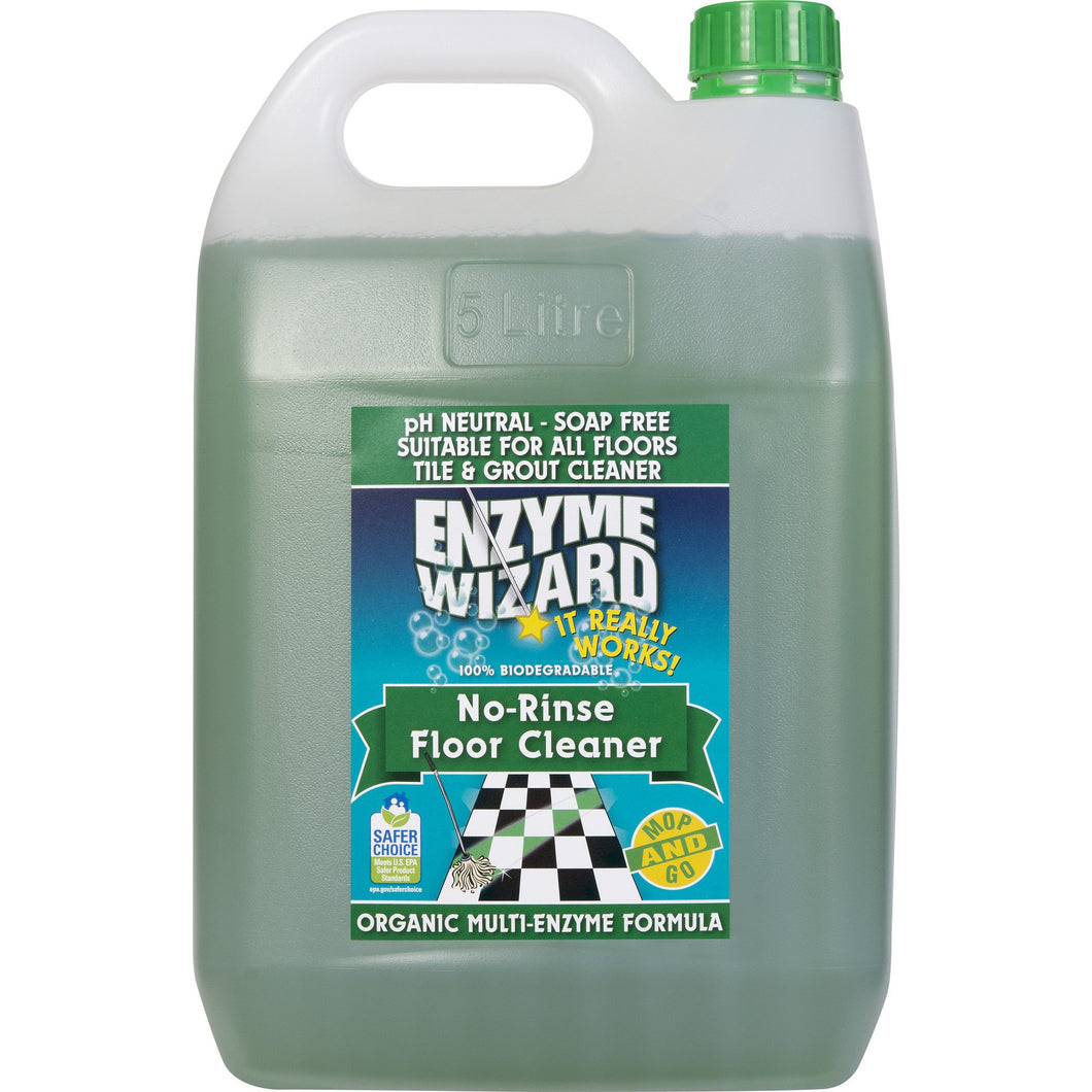 ENZYME WIZARD NO RINSE FLOOR CLEANER 5 LITRE