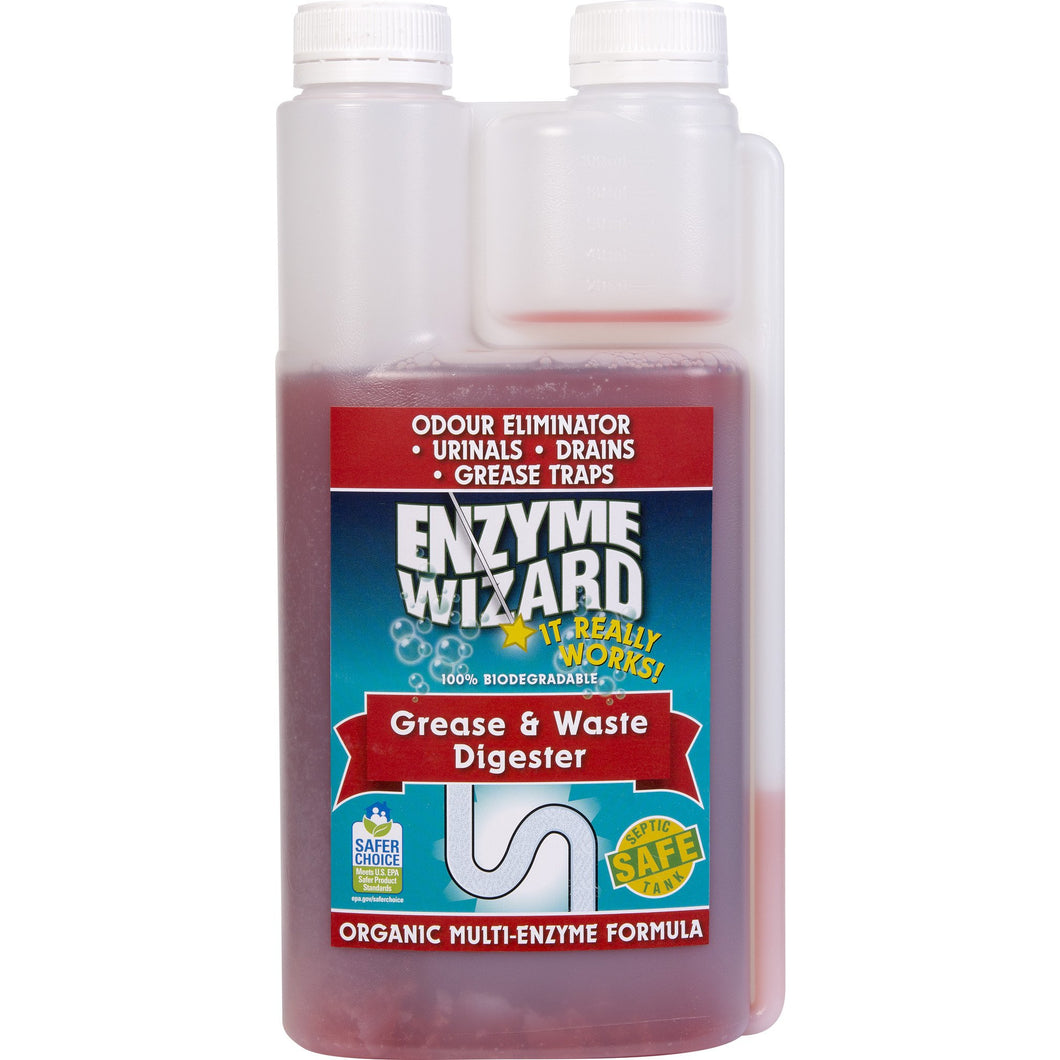 ENZYME WIZARD GREASE & WASTE DIGESTOR 1 LITRE