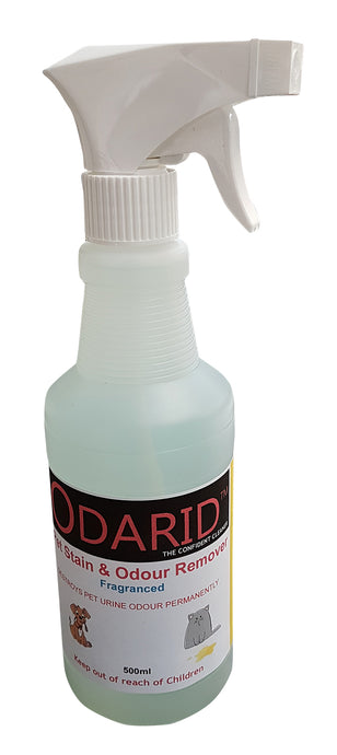 ODARID PET ODOUR REMOVER FRAGRANCED 500ML