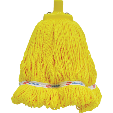 GALA MICROFIBRE MOP HEAD YELLOW - 400G/33CM