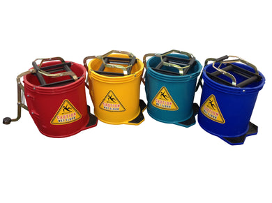 FILTA PLASTIC BUCKET WITH FOOT PRESS Blue 16 Litre - Sold by Single Unit in multiples of 2 Units