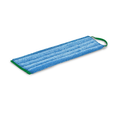 GREENSPEED TWIST FLAT MOP FRINGE BLUE 45CM - WET & DRY USE