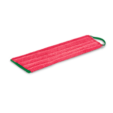 Load image into Gallery viewer, GREENSPEED TWIST FLAT MOP FRINGE RED 45CM - WET & DRY USE