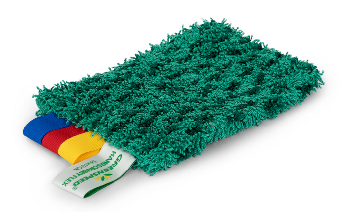 GREENSPEED HANDSCRUBBY FLEX Green 10cm x 14cm - Sold by Single Unit in multiples of 1 Single Unit