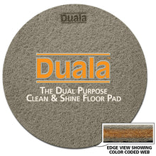Load image into Gallery viewer, DUALA Clean & Shine Pad - Regular Speed Round Pad