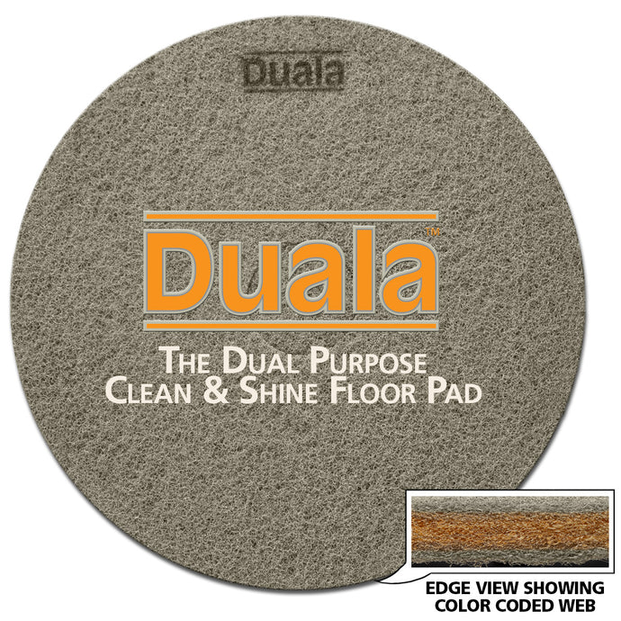 DUALA Clean & Shine Pad - Regular Speed Round Pad