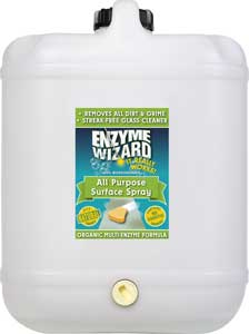 ENZYME WIZARD ALL PURPOSE SURFACE SPRAY 20Lt
