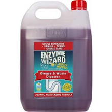 Load image into Gallery viewer, ENZYME WIZARD GREASE & WASTE DIGESTOR 5 LITRE