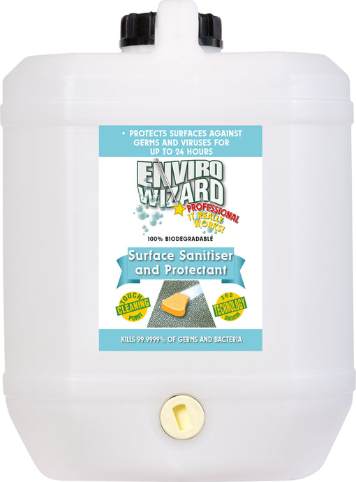 ENVIRO WIZARD SURFACE SANITISER 20 LITRE