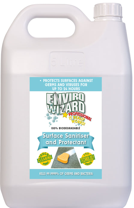 ENVIRO WIZARD SURFACE SANITISER 5 LITRE