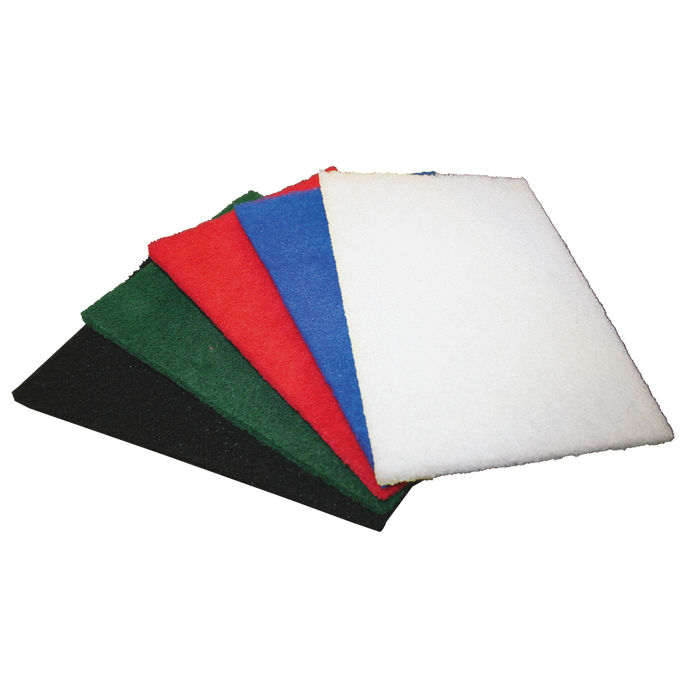 GLOMESH THINLINE PAD - WHITE - 10X10 INCH/250X250MM