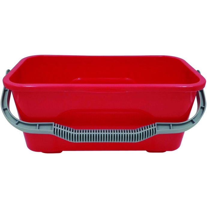 FILTA WINDOW & FLAT MOP BUCKET RED 12L