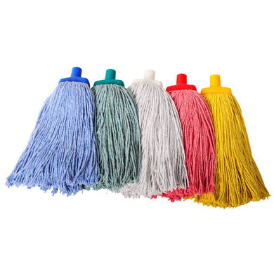 FILTA JANITORS MOP HEAD Blue 400g - Sold by Single Unit in multiples of 1 Single Unit