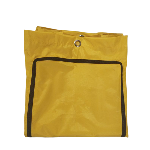 FILTA ZIPPED BAG FOR BLACK JANITOR CART - Sold by Single Unit in multiples of 1 Single Unit