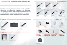 Load image into Gallery viewer, SPACEVAC At-height Vacuum System - External Entry Kit