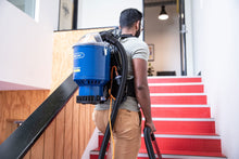 Load image into Gallery viewer, PACVAC SUPERPRO BACKPACK VACUUM CLEANER