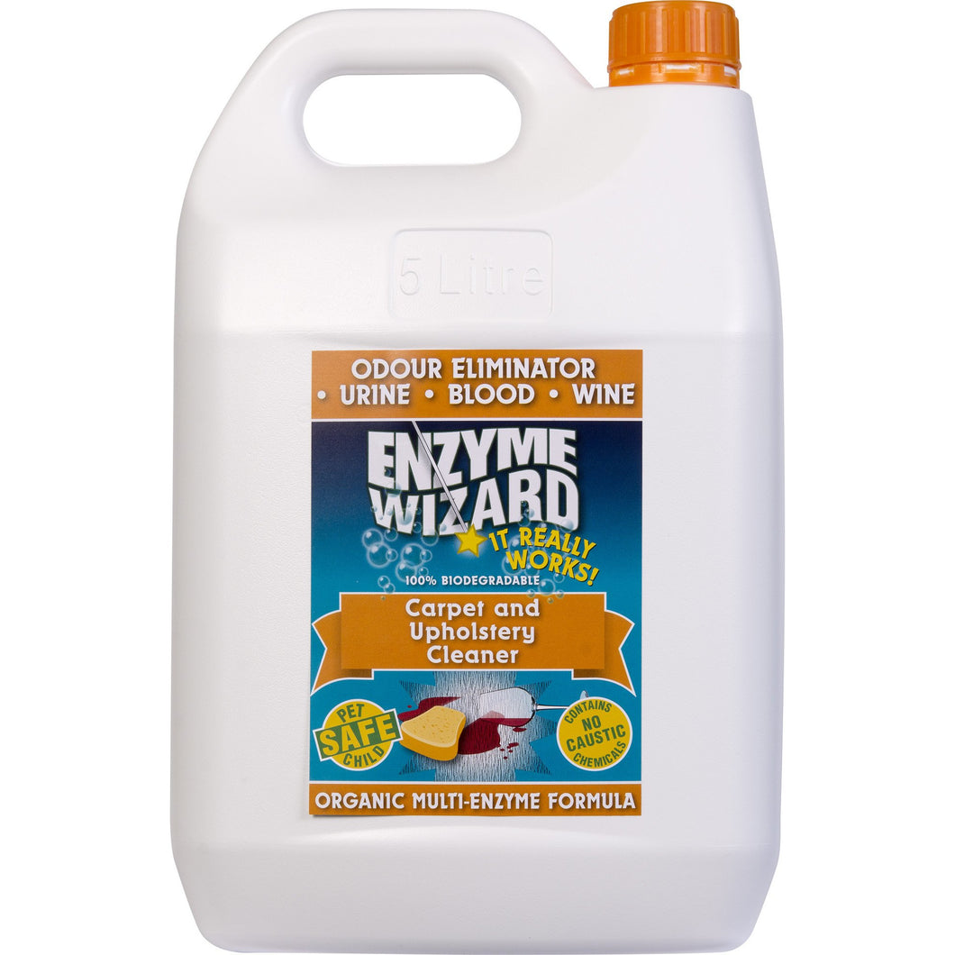 ENZYME WIZARD CARPET & UPHOLSTERY CLEANER 5 LITRE