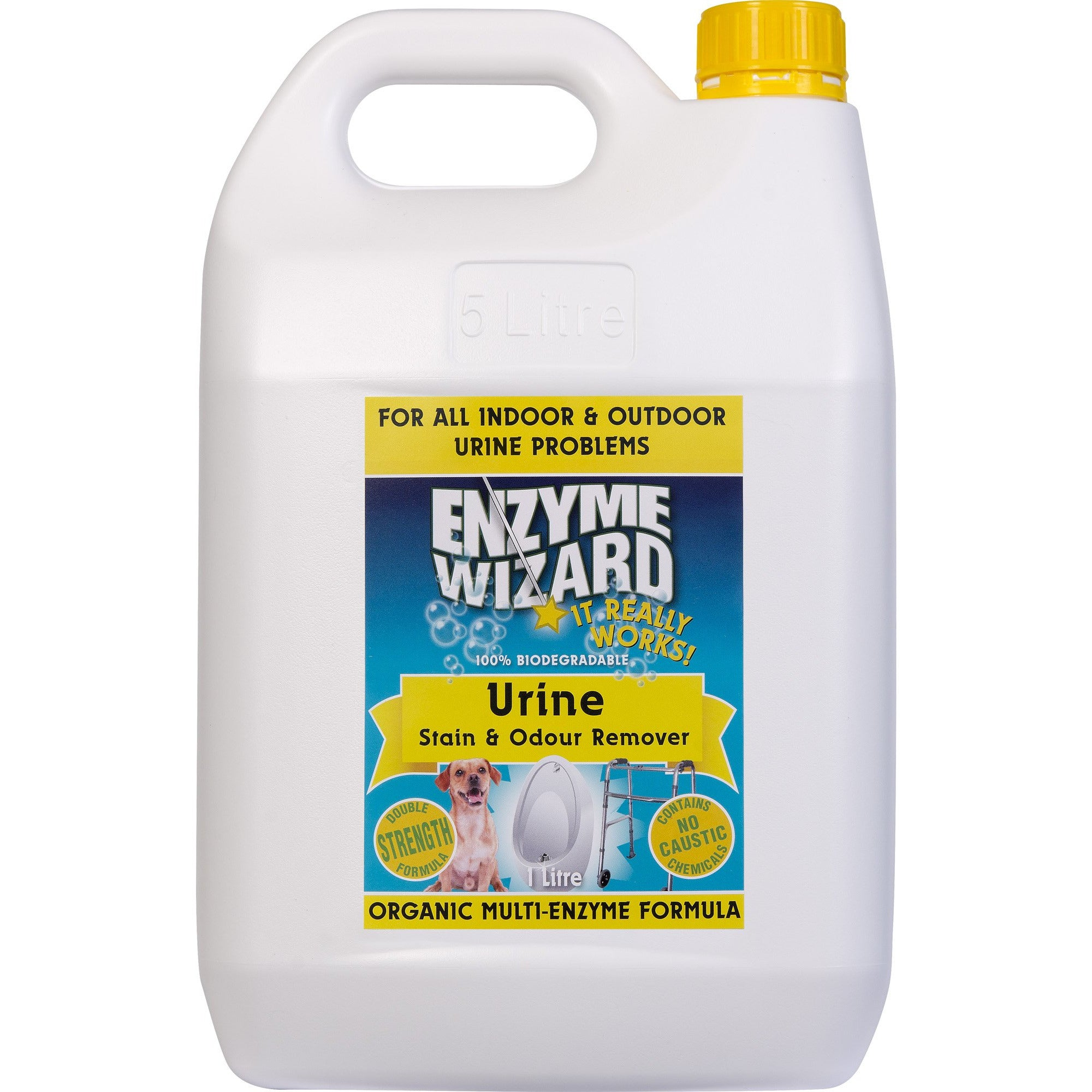 ENZYME WIZARD URINE STAIN & ODOUR REMOVER 5 LITRE