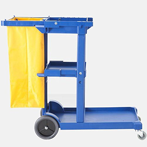 FILTA JANITOR CART BLUE