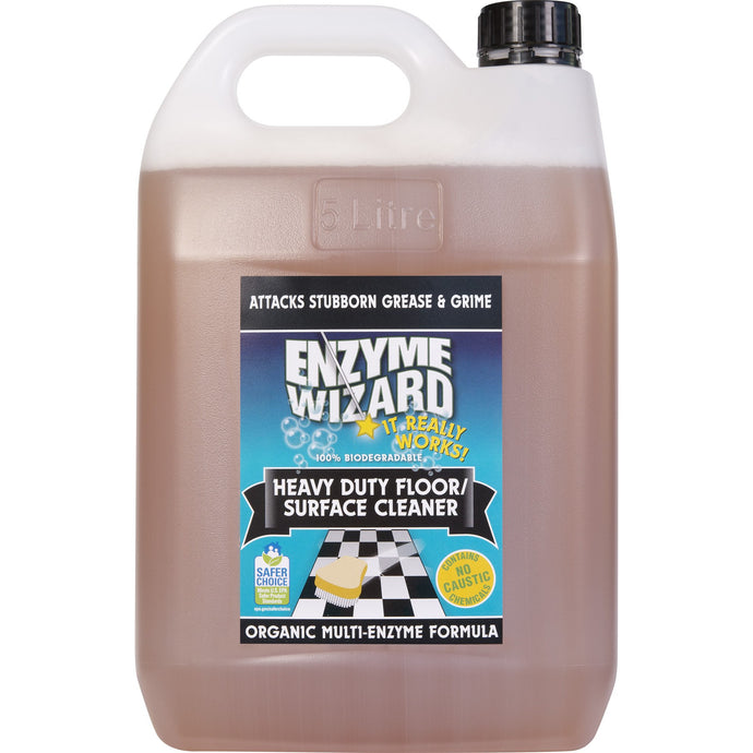 ENZYME WIZARD HEAVY DUTY FLOOR CLEANER 5 LITRE