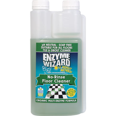 ENZYME WIZARD NO RINSE FLOOR CLEANER 1 LITRE